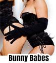 bunny babes topless waitress bucks party