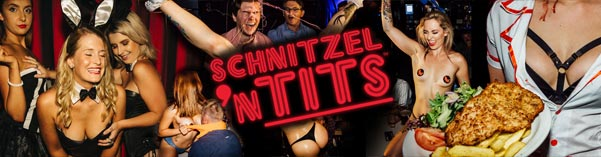 friday night schnitzel n tits