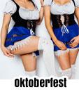oktoberfest topless waitress bucks party